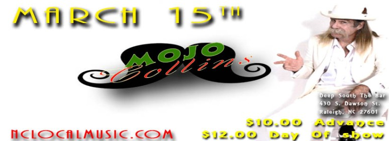 March 15th Mojo Collins